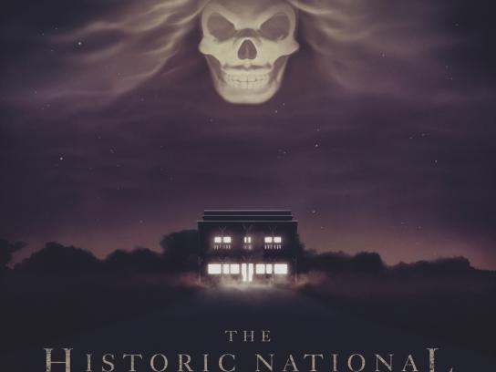Booking.com Print Ad -  Historic National