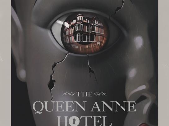 Booking.com Print Ad -  Queen Anne