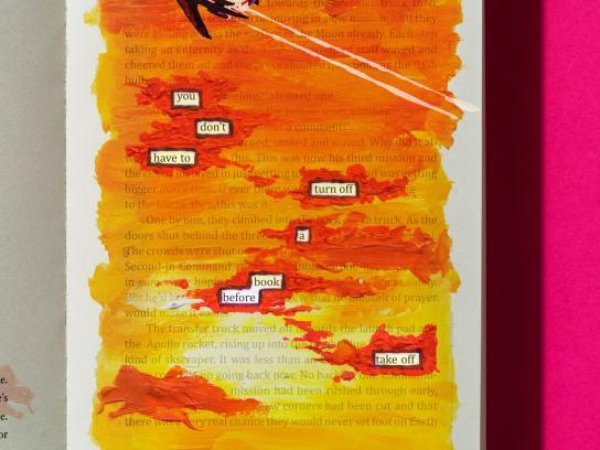 Camden Lock Books Print Ad -  Plane