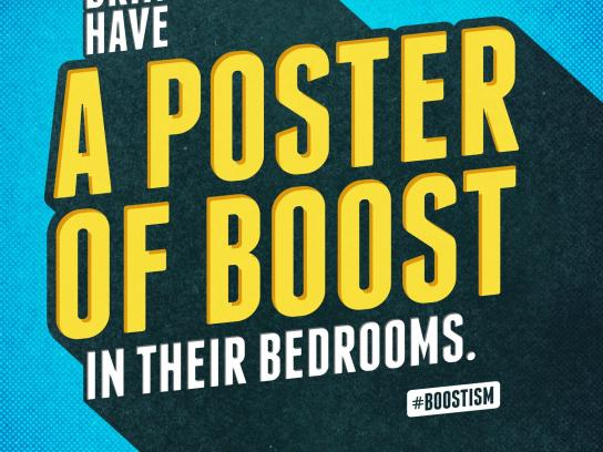 Boost Outdoor Ad -  Poster