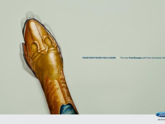 Ford Print Ad -  Boot
