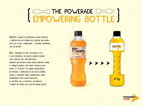 Powerade Direct Ad -  Empowering Bottle