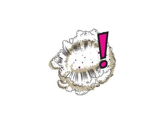 Bose Print Ad -  Cartoon Sound Effects, White