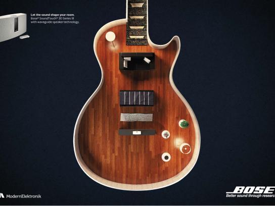 Bose Print Ad - Guitar