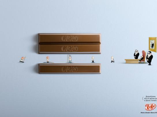Kit Kat Print Ad -  Boss