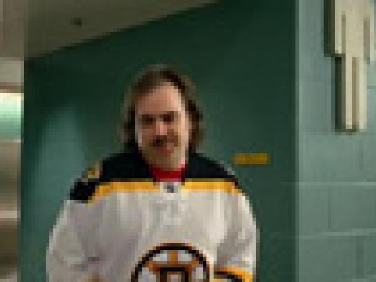 Boston Bruins Film Ad -  Tuck