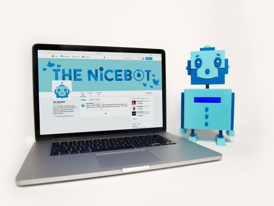 Champions Against Bullying Digital Ad -  The Nicebot