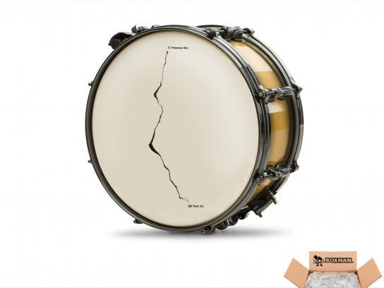 Boxman Print Ad -  Drum