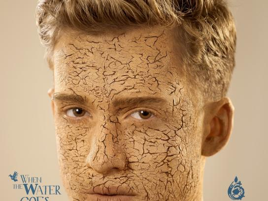 Ouro Azul Print Ad -  Face, 1