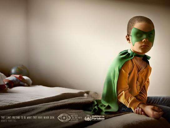 Fortaleza Print Ad -  Superhero boy