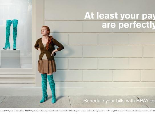BPAY Print Ad -  Boots