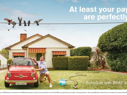 BPAY Print Ad -  Car