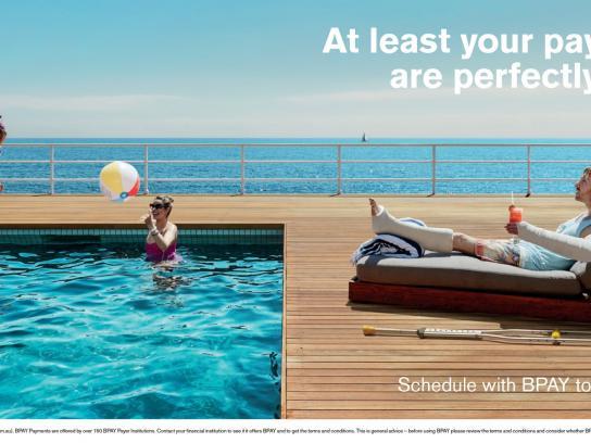 BPAY Print Ad -  Pool
