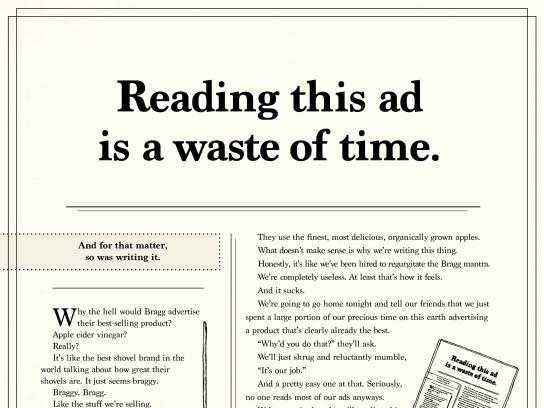 Bragg Print Ad - It sells itself, 2