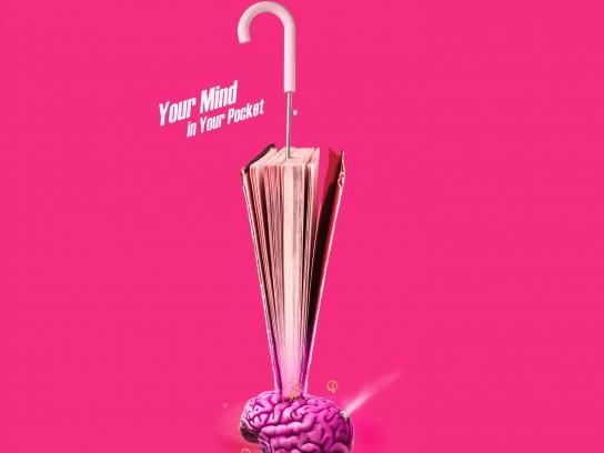 Canon Print Ad - Brain Bomb
