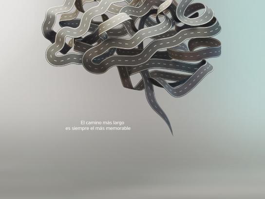 KIA Print Ad -  Brain