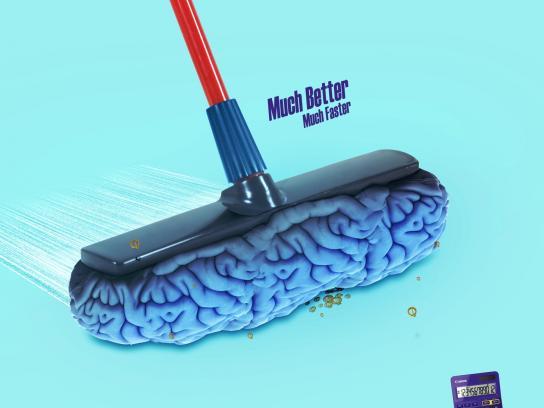 Canon Print Ad - Brain Sweeper