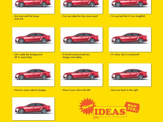 Young Lions Print Ad -  Brainstorming