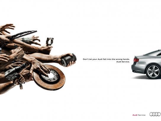 Audi Print Ad -  Brake