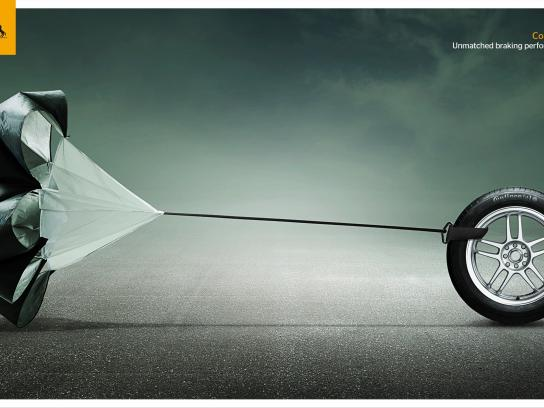 Continental Print Ad -  Brake - Asphalt