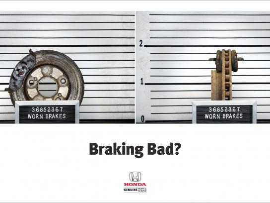 Honda Outdoor Ad -  Braking Bad