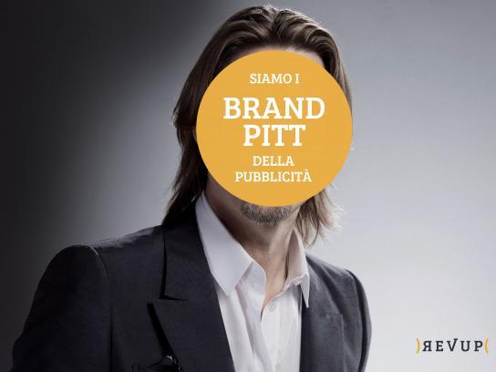 Revup Print Ad - Brand Pitt