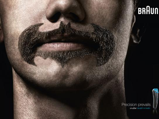Braun Print Ad -  Super Beards Batman
