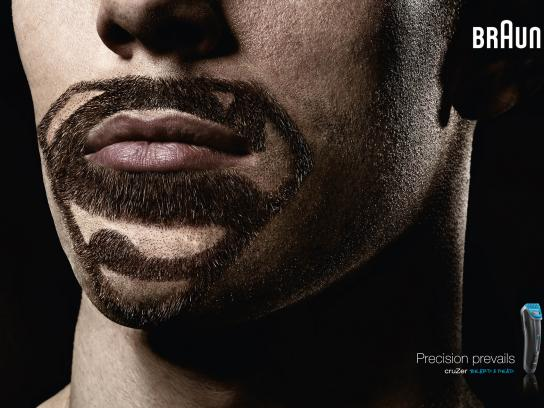 Braun Print Ad -  Super Beards Superman