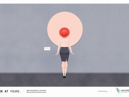 Laço Foundation Print Ad - Breast, 1