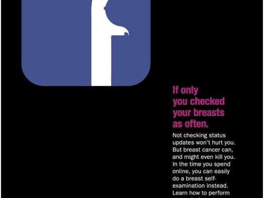 Breast Cancer Foundation Print Ad -  Facebook