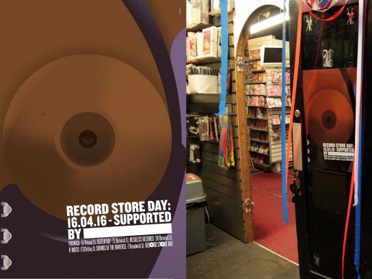 Record Store Day Outdoor Ad -  Breast