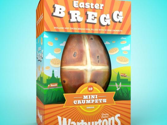 Warburtons Design Ad - Easter Bregg