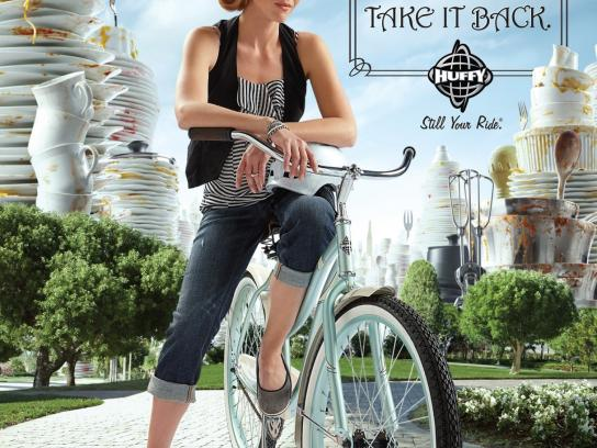 Huffy Print Ad -  Bully