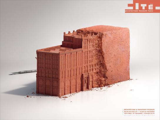 cité de l'architecture et du patrimoine Print Ad -  Brick
