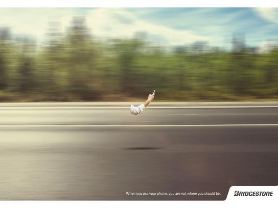 Bridgestone Print Ad -  Forest