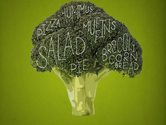 Botaniq Outdoor Ad -  Broccoli