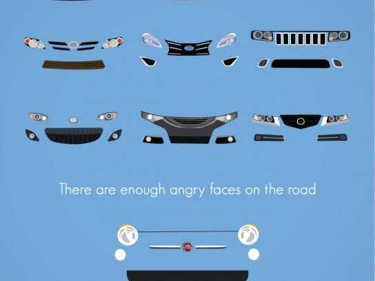 Fiat Print Ad -  Drive Friendly