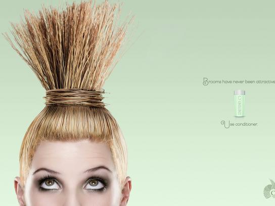 Canipec Print Ad -  Broom