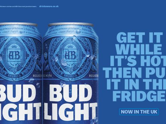 Bud Light Outdoor Ad - It's hot