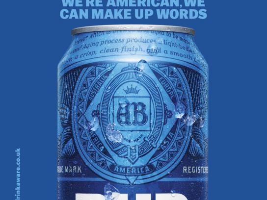 Bud Light Outdoor Ad - Smooth