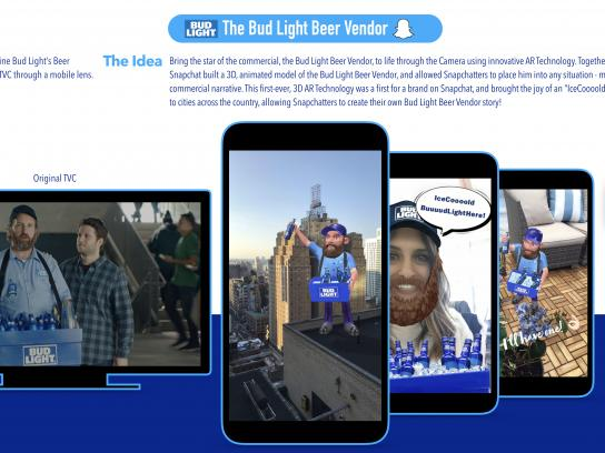 A-B InBev Digital Ad - A-B InBev - Bud Light - Beer Vendor Lens