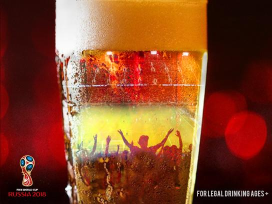 Budwieser Print Ad - The Passion For The Game, The Love For The Beer, 1