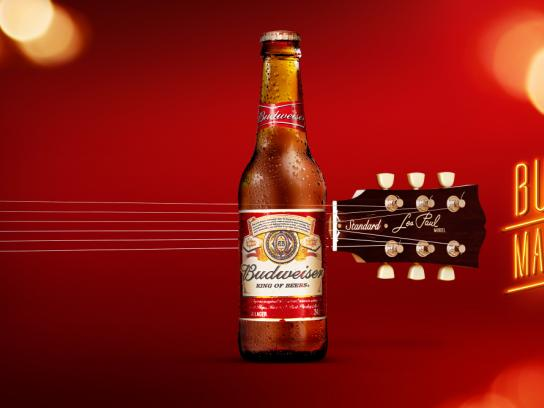 Budweiser Outdoor Ad - Budweiser Makes Music, 2