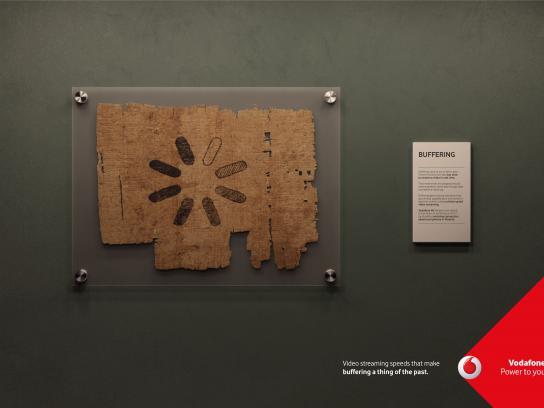 Vodafone Print Ad - Buffering, 3