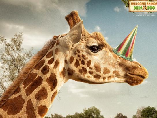 Buin Zoo Print Ad -  Giraffe