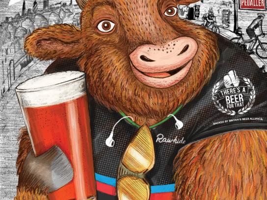 Britain's Beer Alliance Print Ad - Bull