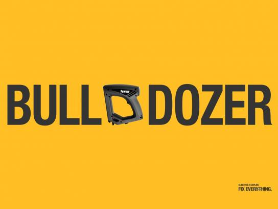 Powner Print Ad -  Bulldozer