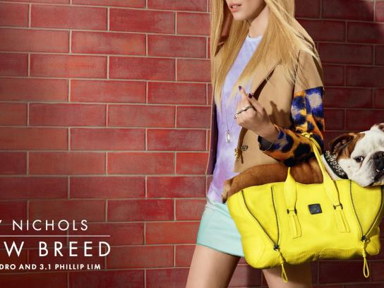 Harvey Nichols Outdoor Ad -  Bulldog