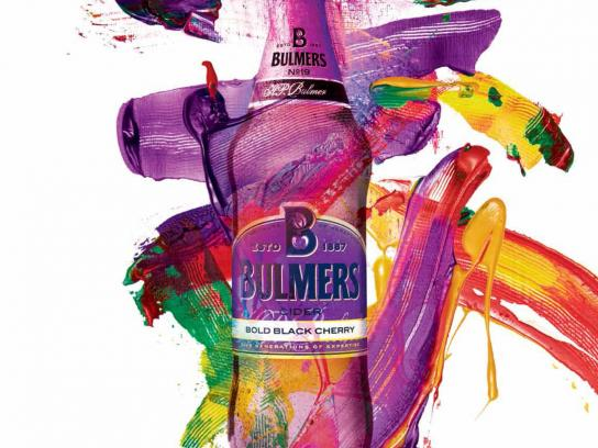 Bulmers Print Ad -  Live colourful, 1
