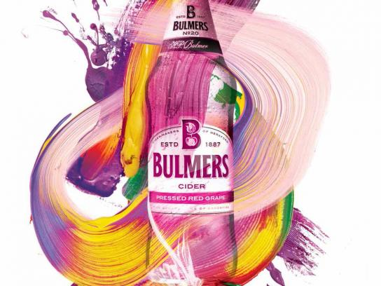 Bulmers Print Ad -  Live colourful, 2